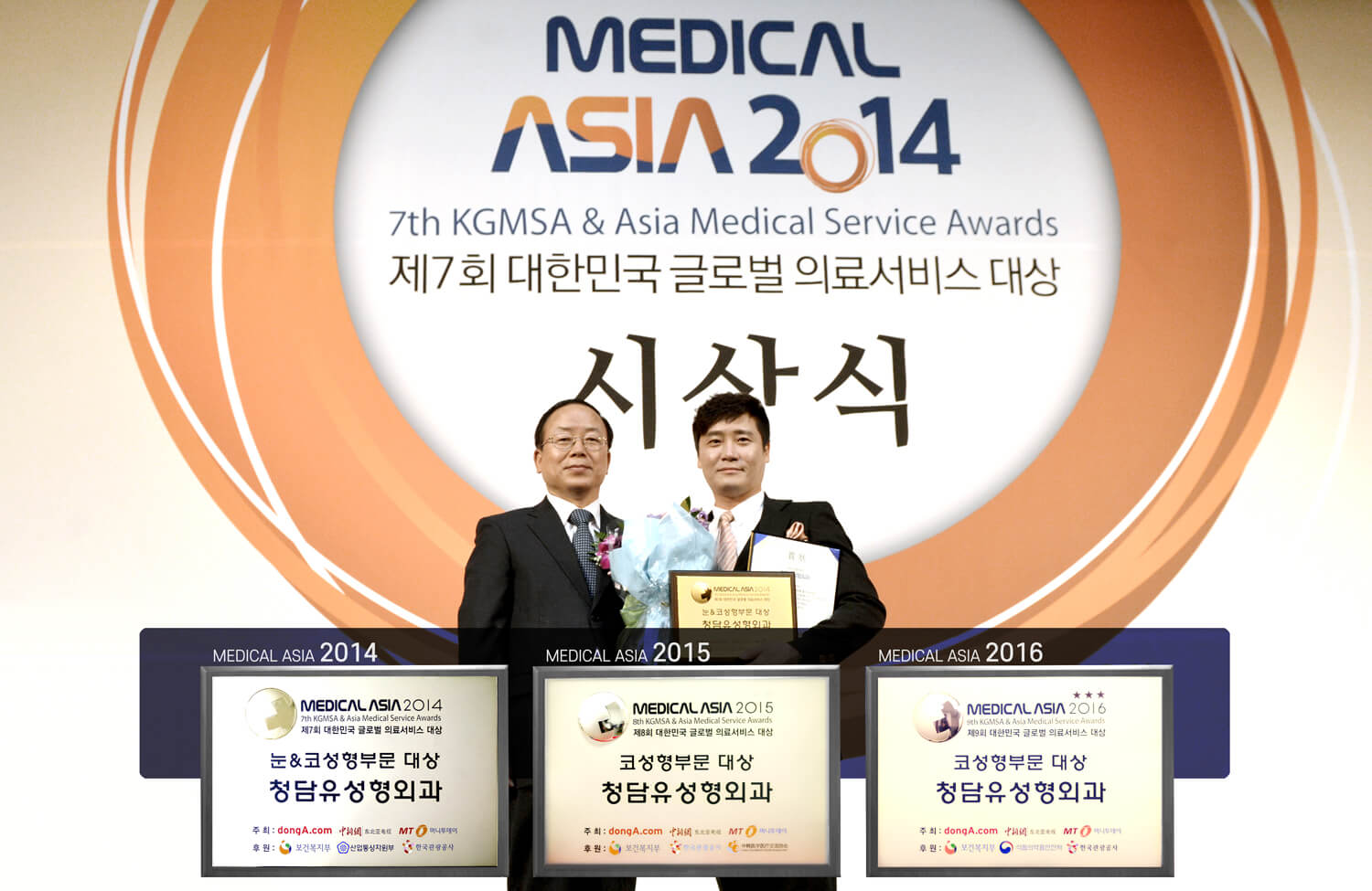 Grand Prize 2016 Medical Asia - 3rd Consecutive Year in Rhinoplasty Sector